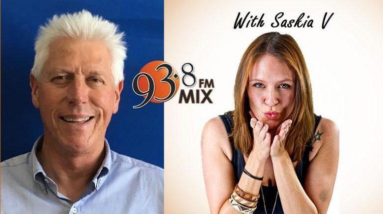 INTERVIEW WITH SASKIA V OF MIX 93.8 FM (4 DECEMBER 2017)