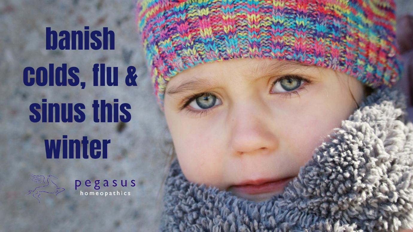 FOR COLDS, FLU, CONGESTION & SORE THROATS